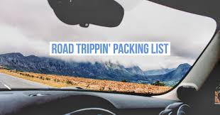 Packing Lists Road trip packing list - 18 items that are actually useful