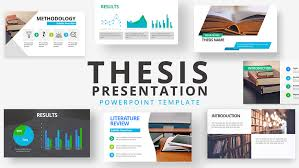Presentation Template Powerpoint Thesis Presentation Powerpoint Template Slidemodel