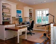 love this pull out table top for extra workspace beautiful home office den