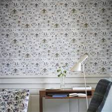 Small Picture Guild Issoria Wallpaper in Zinc