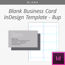 Blank Business Card Template Blank InDesign Business Card Template 24 Up Free Download 19