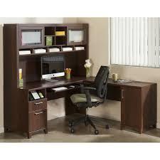office desk l. Cheap L Shaped Desk With Hutch And Storage Ideas Plus Computer Set Black Armchair Office