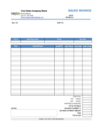 wholesale invoice template free 10 advance payment invoice templates in pdf word docs
