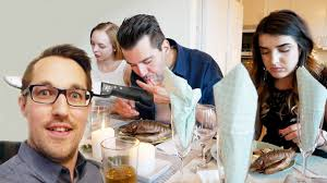 Housewarming Party - Reacting to African food / Henrik and Rachel #32