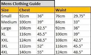 Converse Size Chart Men Clothing Size Guide Footwear Size Guide