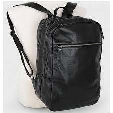 <b>2019 New</b> Korean <b>Genuine</b> Leather Men's Backpack Black <b>Fashion</b> ...