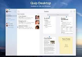 Quip - Introducing Quip Desktop