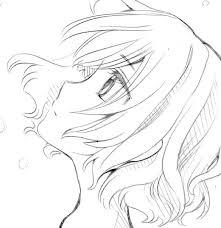 手描きイラスト 横顔 オリジナル 女子高生 女の子 ラフ画の質問一覧