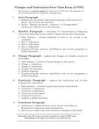 Ccot Essay Format S C H O O L Student Work Student School Hacks