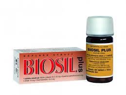Biosil Plus 60 Tablet Doplňky Stravy Vlasy Nehty A Kůže