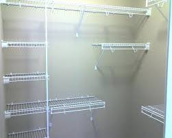wire shelf for closet winsome shelving installation units ideas closetmaid