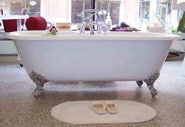 cast iron bathtub glaze top modern interior design trends and ideas
