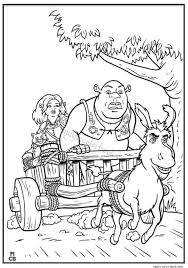 Small Picture 31 best Shrek Coloring pages free online images on Pinterest
