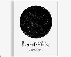 Star Chart Of A Certain Date Custom Star Map By Date Printable Constellations Chart Night Sky Personalized Digital Download Pdf Jpg