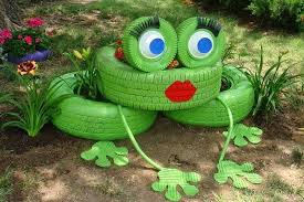 garden items. Create Garden Art From 5 Household Rubbish Items