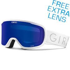 Giro 2018 Moxie White Gry Cobalt Lens