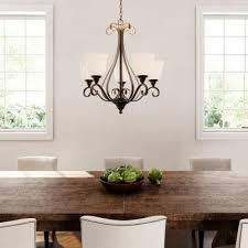 Bronze Kitchen Table Lighting