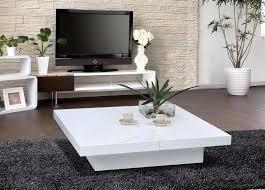 White modern coffee table Glass White Modern Coffee Table The Holland Bureau White Modern Coffee Table The Holland Modern Coffee Table