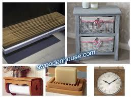 Wooden Bathroom Accessories Set Wooden Bathroom Accessories Wood Bathroom Accessories Tsc