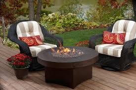patio furniture with propane fire pit table stylish for outdoor area the new way home decor pertaining to 14