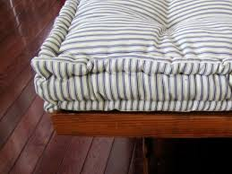 custom bench cushions. Custom Bench Cushion Ticking Stripe Window Seat Cushions I