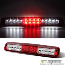 chevy silverado cargo light 1999 2006 chevy silverado gmc sierra red clear led 3rd brake light cargo lamp