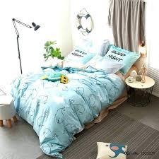 penguin crib bedding shark bedding set kids cartoon duvet cover panda penguin dolphin shark bedding set