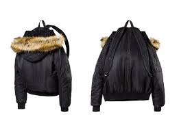 Jacket Backpack Rihannas Bomber Jacket Backpack Is Pure Nonsense