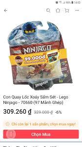 Con Quay Lốc Xoáy Sấm Sét - Lego Ninjago - 70660 (97 Mảnh Ghép)