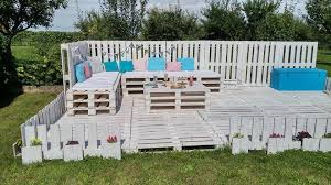 pallets garden party lounge easy