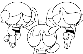 Powerpuff Girls Z Coloring Pages W88131me