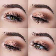 hottest eye makeup trends for 2018 smokey peach eyes it s time to check out