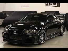 Black Nissan Skyline GT-R R34 V-Spec II  YouTube