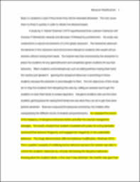 sample theory paper behavior modification running head image of page 5
