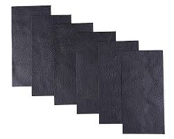 com i mart leather repair patch pleather patch faux leather repair kit for couch furniture sofa jackets handbags pack of 6 black