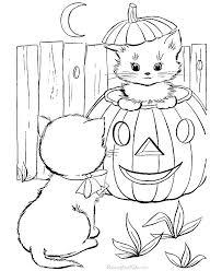 Coloring Sheets Halloween Uticureinfo