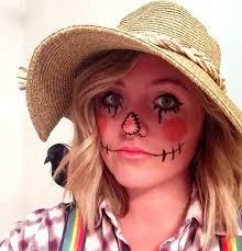 a non toxic makeup scarecrow