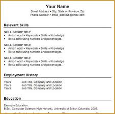 how to write a basic resume for a job t fileme make me a resume