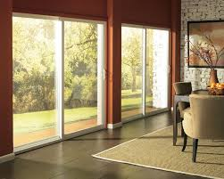 contemporary sliding glass patio doors. modern concept decoration sliding glass patio with blinds and contemporary doors