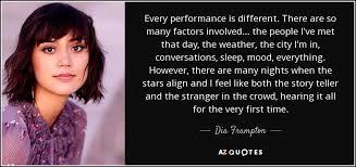 Dia Quote Gorgeous TOP 48 QUOTES BY DIA FRAMPTON AZ Quotes