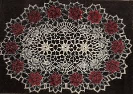 Oval Crochet Doily Patterns Free Adorable Crochet Oval Tablecloth Patterns Free Free Crochet Oval Tablecloth