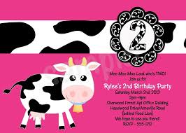 moo invitations cow birthday party invitations luxury cow birthday party invitations