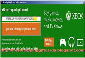 free xbox one gift cards generator photo 1