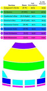Tulsa Pac Seating Chart Subscribe Tulsa Opera