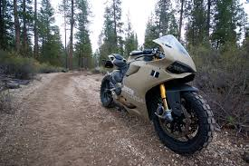Ducati 1199 Panigale Terracorsa Off Road Superbike Rideapart
