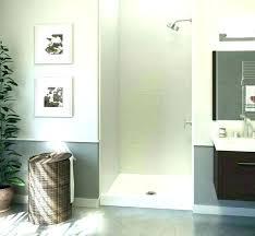 home depot custom shower door glass