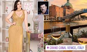 Globetrotting wife of jailed El Chapo enjoys dinner date in Venice