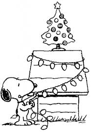 Christmas Coloring Paper Free Printable Charlie Brown Christmas Coloring Pages For Kids
