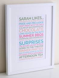 exle wordings for the personalised likes poster