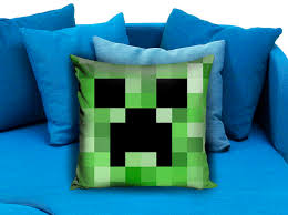 Case Piccole Minecraft : Minecraft creeper pillow case pillowmug